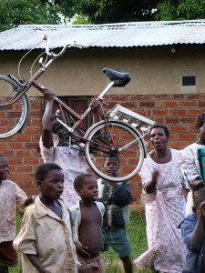 Bike in Malamulo